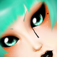 [Eyes]Returning this old drawing. For now finished by Naokawaii
