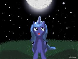 Luna's Light NATG Day 30 by ColorCoatedArt
