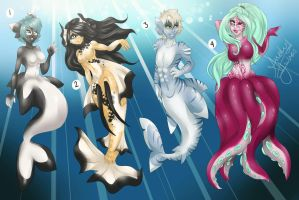 .:Sea creature adopt:. by Fur-What-Loo