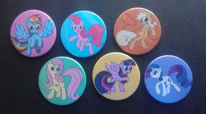 Everfree NW buttons by Snetri