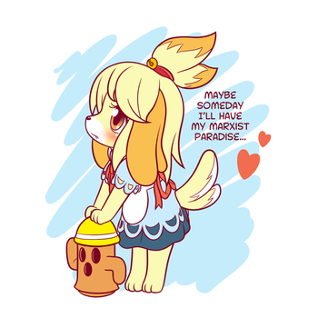 Marxist Isabelle by SymbianL