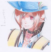 ColorPencil_Aloysius Hilarious by Foxalollita