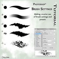 Photoshop Brush Settings Tutorial by Jio-Derako