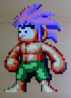 Tombi sprite bead by ShadowSkilz