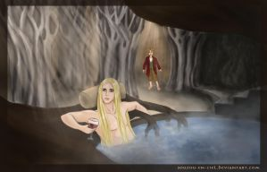 Thranduil's Bath Time by souzou-en-ciel