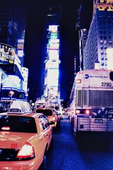 Times Square by ordre-symbolique