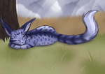 Autumn Afternoon Snooze by Taelune