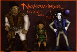 Rik's Neverwinter Characters by SLYKM