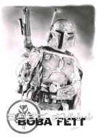Boba Fett (newly scanned) by Quadcabbage