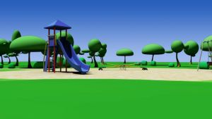 playground background by gaelfling