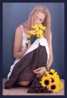 Sunflower 3 by Lisajen-stock