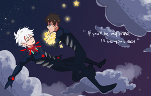 NGE: i live to let you shine by xShieru