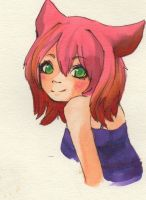 Uhhh Person with animal ears by Paipuru