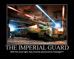 Imperial Guard Motivator by 4thWarmasterKais