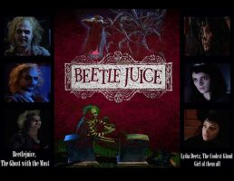 Beetlejuice: The Ghoulest Duo of The Netherworld by Kyukitsune