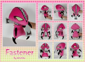 Fastener Plush:::::: by Witchiko