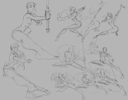 Arianna Commission Sketches by Tongman