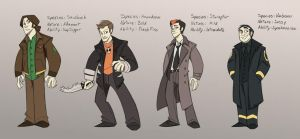 Supernatural pokejinkas by CorNocte