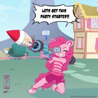 Pinkie's Portable Party Launcher by vicse