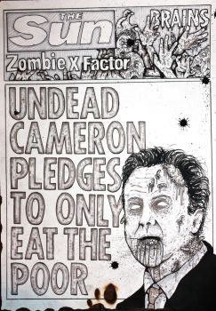 English Zombie Newspaper by ReVerbaration