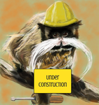 Construction monkey by CrazyMonkeyNi