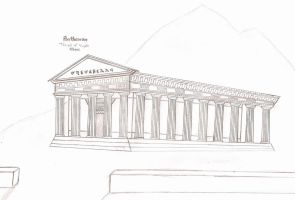 Temple of Virgin Athene by 8xhx8