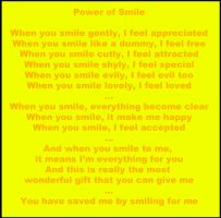 Power of Smile by Soniclifetime