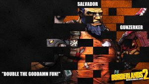 Borderlands 2 Wallpaper - Legacy (Salvador) by mentalmars