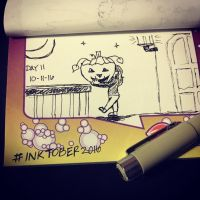 Project: Inktober 2016 -day 11- by mscherbear