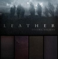 6 leather textures by DistrictAliens