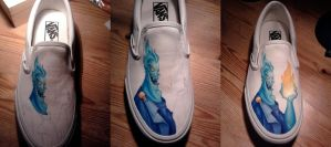Disney's Hades Vans - progression by aBal0rio