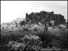 Superstition Mountains - Arizona by andromeda