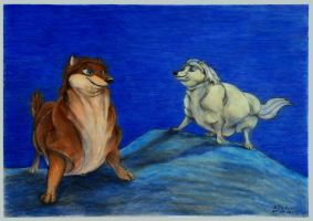 Fat Garth and Lilly 1 of 2 by SSsilver-c