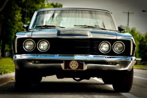 Mercury Cyclone GT 1968 front by RockRiderZ