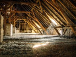 Another Attic in HDR by DasHorst