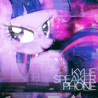Kylie Minogue - Speakerphone (Twilight Sparkle) by AdrianImpalaMata
