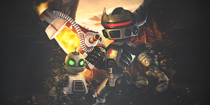 Ratchet and Clank by yuri008
