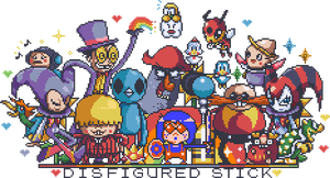 Pixel header by DisfiguredStick