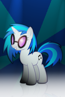 Vinyl Scratch Ipod Wallpaper by Willisabrony