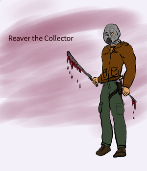 Reaver the Collector by MrCrimsonWizard