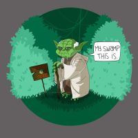 My Swamp This Is - Shirt design by LennyGrosskopf
