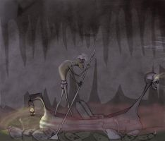 Charon, the Ferryman of the River Styxx by queen-of-the-dorks