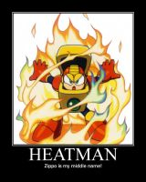 Heatman by DreamVirusOmega