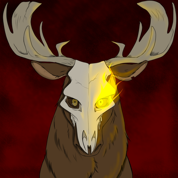 Morte Moose by RenniksArts