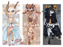 Steamfawn Aesthetic Adopts - Revealed! by Cyleana