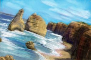 12 apostles quick painting by ShadowDragon22