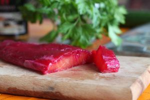Marinated Salmon by kupenska