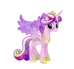 Crystal Princess Cadence by BubblestormX