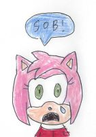 Sad Amy Rose by dth1971