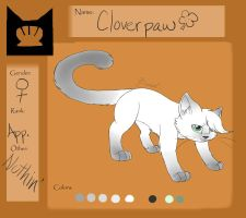 Cloverpaw of Shellclan by BeadFeather